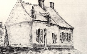 Picture house, Vincent van Gogh, Works of the young, The House Magros