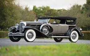 Picture Car, Vintage, Retro, Duesenberg Model J