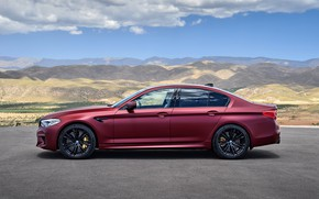 Picture BMW, profile, 2017, M5, F90, M5 First Edition