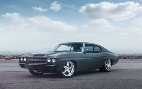 Picture Chevy, Chevelle, Muscle car, Vehicle, Pro Touring