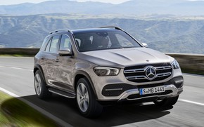 Picture Mercedes, Benz, GLE, 2019, 2019 Mercedes‑Benz GLE, Mercedes‑Benz