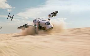 Picture Star Wars, Art, Republic, Mantis, Science Fiction, TIE Fighter, TIE, Transport & Vehicles, Control, TIE/LN …