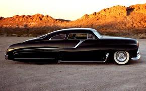 Picture Hot Rod, Low, Vehicle, Mercury