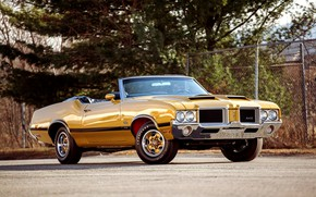 Picture Muscle car, Convertible, Vehicle, Oldsmobile 442, W30, Muscle Classic