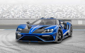Picture design, Ford GT, carbon, sports car, Mansory, 840 Nm, Mansory Le Mansory, 710 Ps, color …