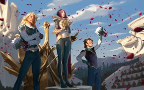 Picture trio, Fiora, Legends of Runeterra
