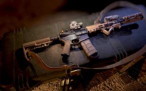 Picture weapons, rendering, render, rifle, render, 3d art, ar 15, ar-15, assault rifle, ar-15, custom, weapon, …
