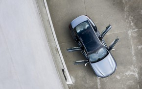 Picture roof, coupe, BMW, the view from the top, Gran Coupe, 8-Series, 2019, the four-door coupe, …
