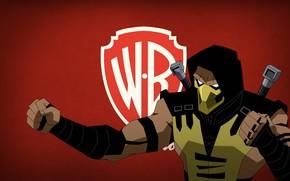 Picture Scorpio, fighter, Mortal Kombat, scorpion, Battle of the realms