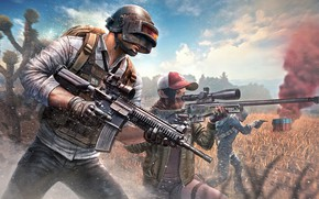 Picture weapons, soldiers, helmet, PlayerUnknown's Battlegrounds