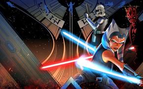 Picture Star Wars, Star wars, Disney, art, Season 7, Rex, The clone wars, Rex, Lucasfilm, Ahsoka …