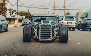 Picture Ford, City, Speed, Custom, Vehicle, Model A, Ford Model A