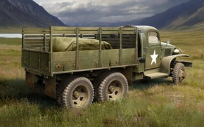 Picture USA, Truck, GMC CCKW, CCKW 352, Army truck