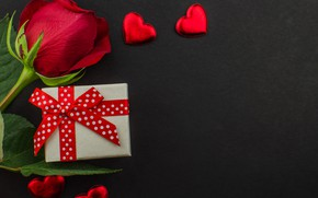 Picture gift, chocolate, roses, candy, hearts, red, red, love, flowers, romantic, hearts, chocolate, valentine's day, roses, …