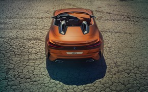 Picture BMW, dry land, Roadster, 2017, Z4 Concept