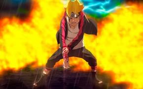 Picture power, boy, Naruto, stand, Boruto