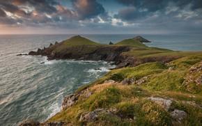 Picture landscape, nature, coast, island, beauty