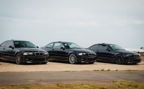 Picture bmw, black, e46