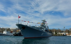 Picture ship, Sevastopol, guard, Okay, cipher puffin, проект1135