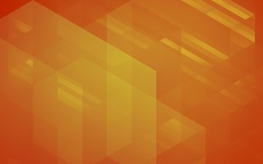 Picture line, orange, abstraction, background, corners, figure