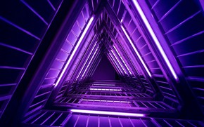 Picture the tunnel, triangle, Build, Triangles, 2020