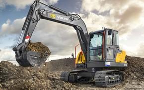 Picture photo, Volvo, Excavator, 2018-19, EC75D