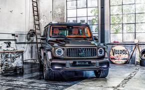 Picture HDR, garage, Mercedes Benz, G63, Mercedes-AMG, Hofele, Hofele Design, 2021, HG 63 Limitless