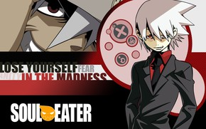 Picture look, smile, guy, Soul eater, Soul Eater
