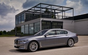 Picture BMW, sedan, structure, four-door, G12, G11, 2020, 7, 7-series, 2019, full-size