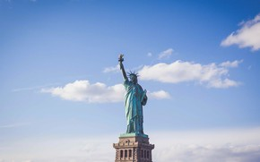 Picture USA, The Statue Of Liberty, New York