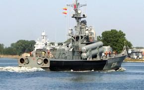 Picture large, boat, rocket, Chuvashia