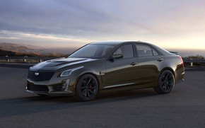 Picture Cadillac, sedan, CTS-V, four-door