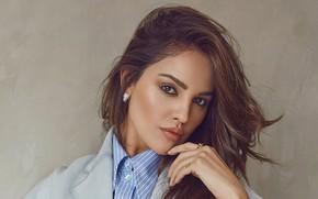 Picture look, girl, pose, hair, makeup, actress, lips, brown hair, beauty, Eiza Gonzalez