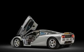 Picture McLaren, Salon, The door, 1993, McLaren F1, Sports car, Sports car