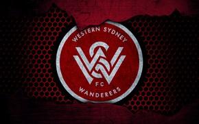 Picture wallpaper, sport, logo, football, Western Sydney Wanderers