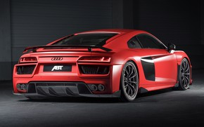 Picture Audi R8, rear view, ABBOT, V10, More, 2017