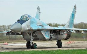 Picture Fighter, Ukraine, The MiG-29, Chassis, Ukrainian air force