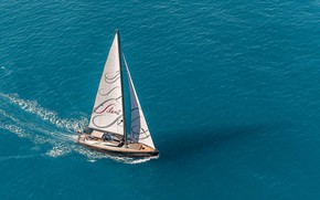 Picture sea, yacht, sails, Gigreca - Admiral Yacht, Silent-76, роскошная супер-яхта, Luxury Super Yacht