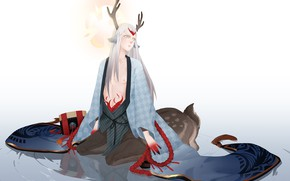 Picture Fanart, Centaur, Pixiv, Shishio, Onmyoji, Fanart From Pixiv, Onmyouji (NetEase)