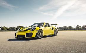 Picture Porsche, Yellow, 991, VAG, Sight, GT2RS