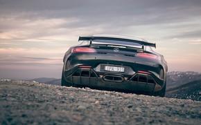 Picture Mercedes-Benz, rear view, AMG, AU-spec, GT R, 2019
