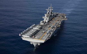 Picture ship, American, USS Kearsarge LHD 3