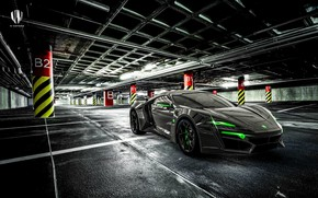 Picture Auto, Machine, Supercar, Rendering, Concept Art, Sports car, Parking, Lykan, Game Art, Transport & Vehicles, …
