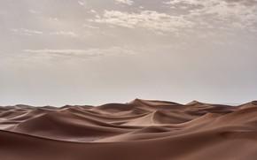 Picture sand, desert, barkhan