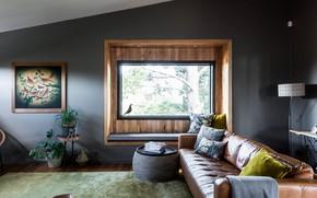 Picture room, interior, living room, Ashburton House
