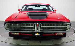 Picture Muscle, Dodge Charger, Rallye Theme, 340 Magnum