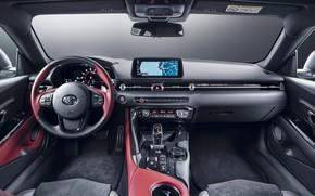 Picture Toyota, salon, Supra, 2020, GR Above, A90, 2.0L
