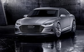 Picture Concept, light, Audi, coupe, Coupe, the room, 2014, Prologue