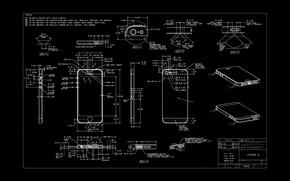 Picture apple, diagram, iphone 5