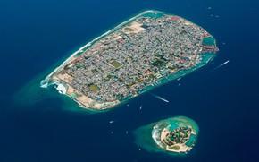 Picture city, island, beauty, cityscape